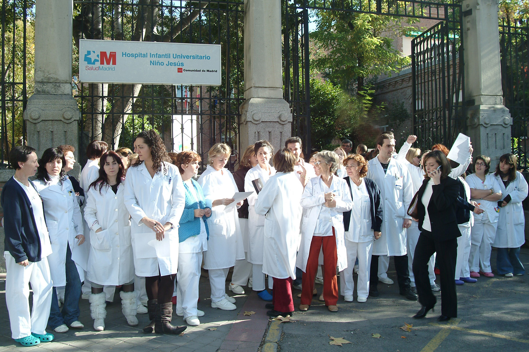 hospital nino jesus madrid: